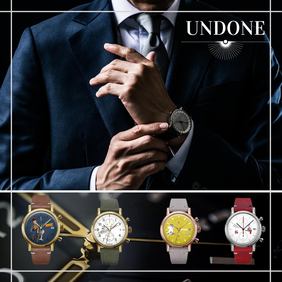 アンダーン腕時計の悪い口コミ評判_良い口コミ評判|UNDONEの今月のキャンペーン・コラボ情報